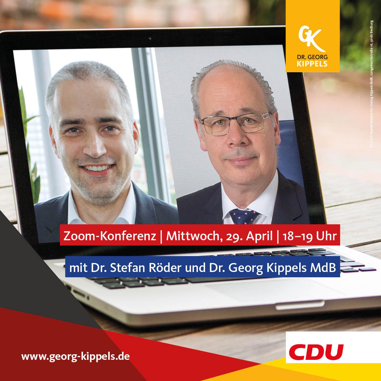 2. Zoom-Bürgersprechstunde mit Dr. Stefan Röder